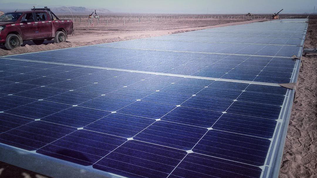 Contrato Topografía GNSS Construccion Planta Solar (la granja solar), cliente SOLARPACK