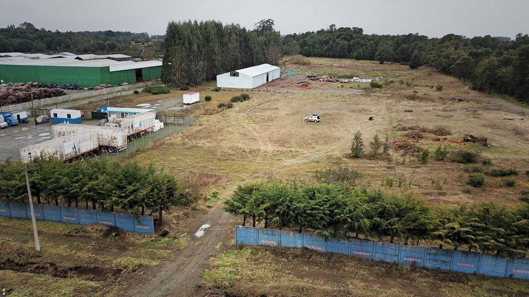 Topografía Base Construcción PRT Castro-Chiloé, cliente ALGORITMOS SPA